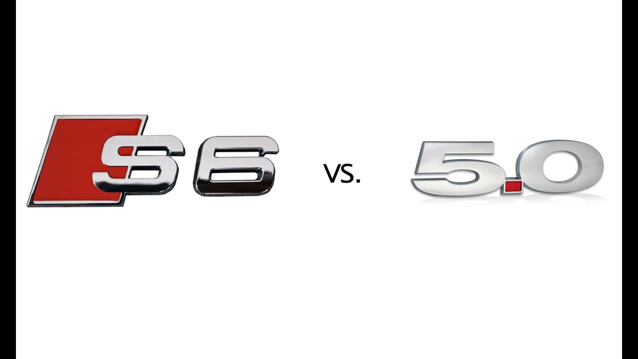 2016 Audi S6 Twin Turbo V8 vs 2011 Mustang 5.0 - YouTube