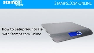 How to Connect USB Digital Postal Scale with Stamps.com Online