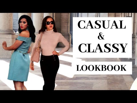 How To Dress Classy & Casual The Lookbook : 6 Outfits Ideas