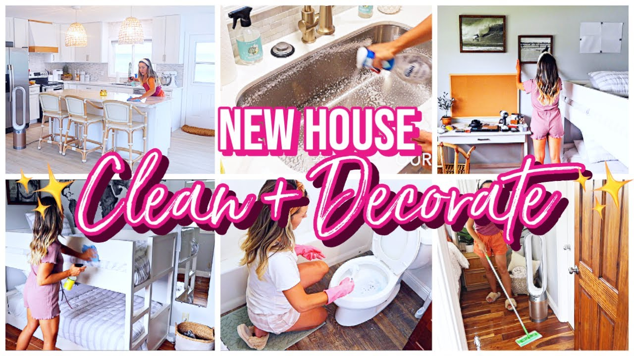 NEW HOUSE CLEAN + DECORATE WITH ME! 2021 FALL RECIPES + HOMEMAKING MOTIVATION!  @Brianna K