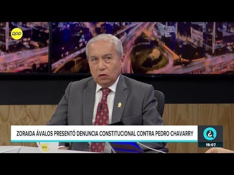 Pedro Chávarry: 'Yo no soy participe de una organización criminal'.