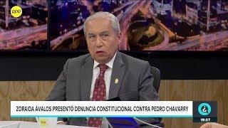 """Pedro Chávarry: """"Yo no soy participe de una organización criminal""""."""