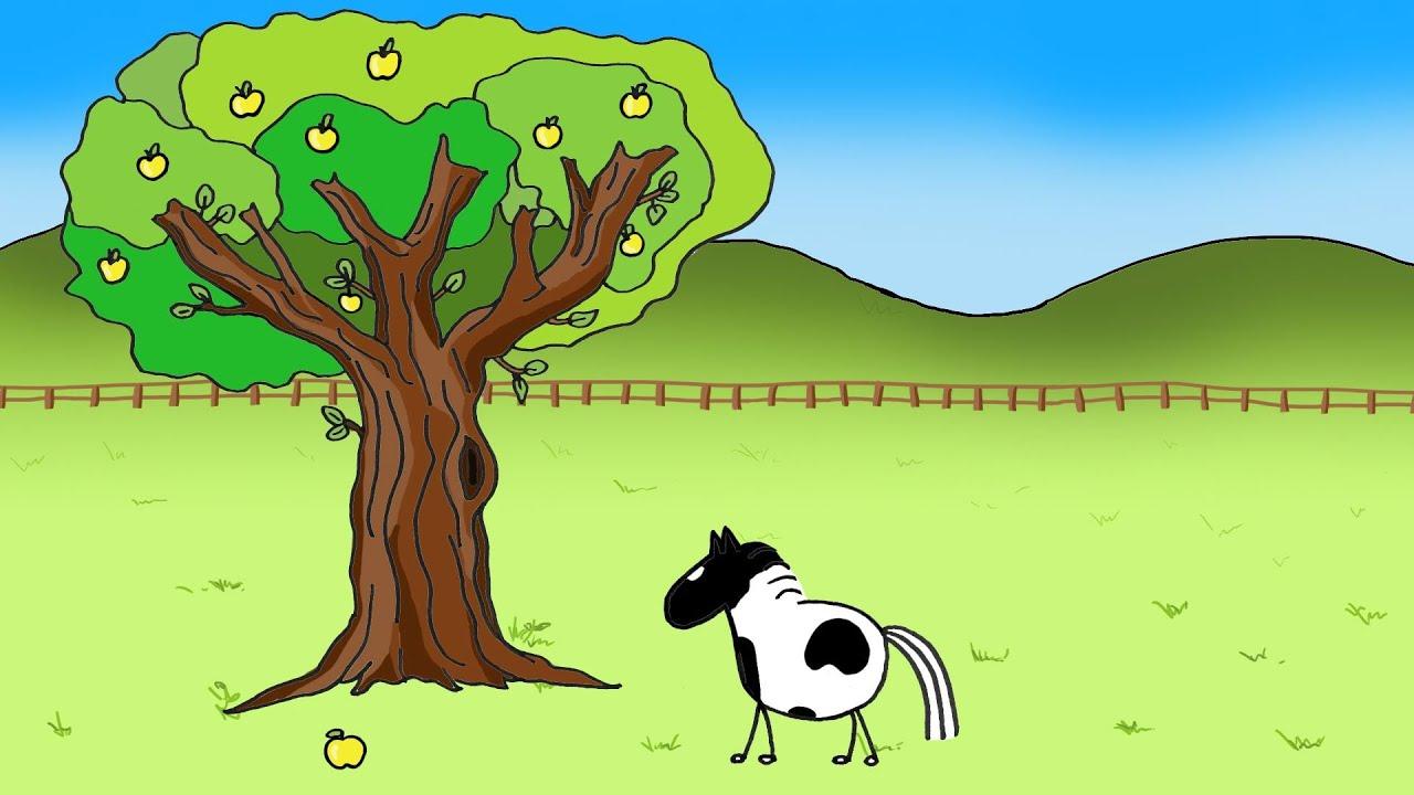 Le cheval et la pomme dessin anim youtube - Scoubidou en dessin anime ...