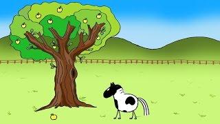 Le cheval et la pomme - dessin animé