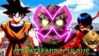 Gambar cover O que teria acontecido se Goku fosse para dimensão de Miraculous Ladybug