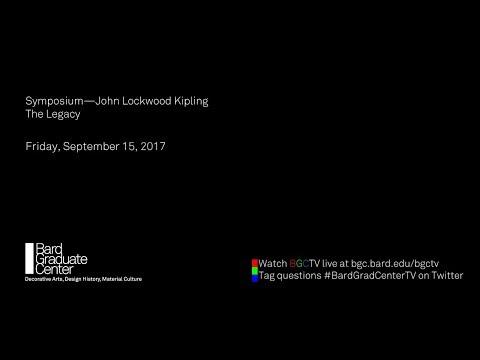Symposium—John Lockwood Kipling  The Legacy | Julius Bryant