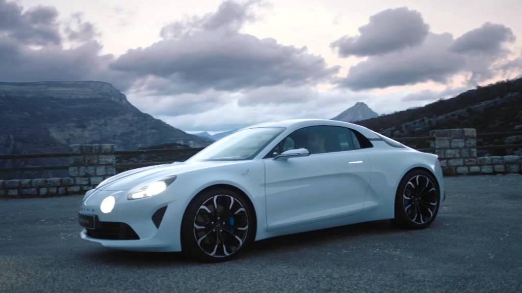 New Alpine Vision Concept 1 Youtube