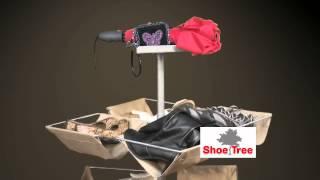 "Rotary Shoe Rack ""shoetree"""
