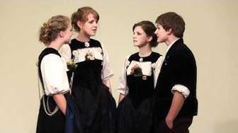 """Quartett """"Je lenger, je lieber"""" Eidg. Jodlerfest Interlaken 2011"""