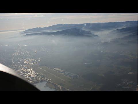 Cessna 172 live ATC - IFR from Colmar, France (LFGA) to Stuttgart, Germany (EDDS)