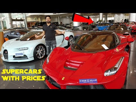 Dubai Supercars With Prices | Dubai Luxury Cars