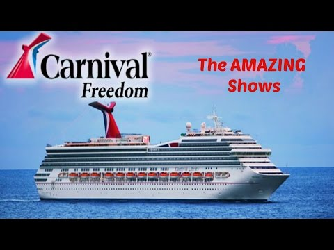Carnival Freedom - The Shows by Playlist Productions