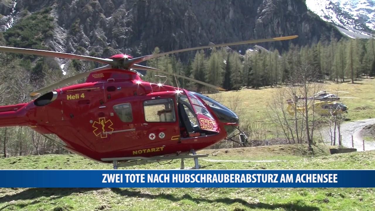 Hubschrauberabsturz Achensee