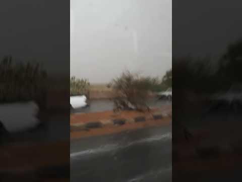 Khartoum Sudan raining