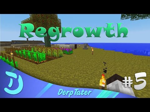 Modded Minecraft - Let's Play Regrowth - EP5 - Petal Apothecary @DerpTater