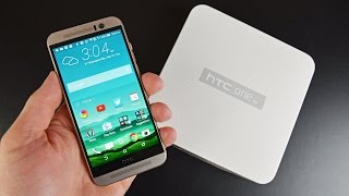 HTC M9 - HTC One M9: Unboxing & Review