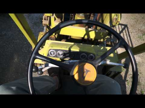 Clark Forklift Operation Overview