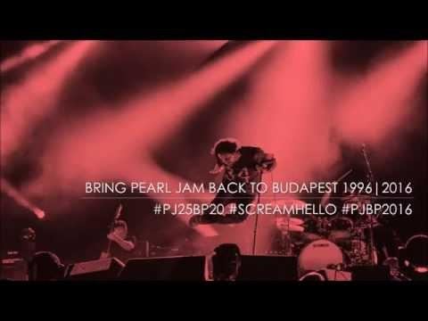 Scream Hello // Bring Pearl Jam Back to Budapest 1996/2016 - A Grungery a Radio Q-n!