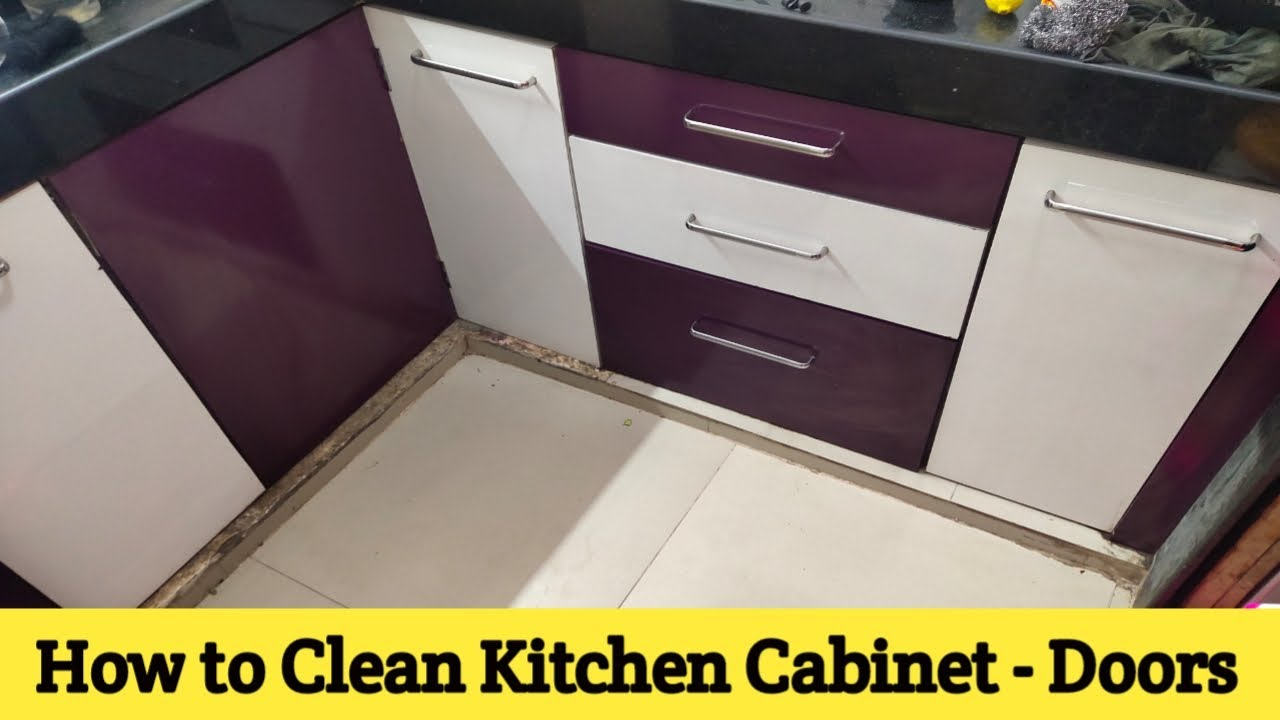How To Clean Kitchen Cabinates Door Modular Kitchen Cabinates Door Kitchen To Kitchen Youtube