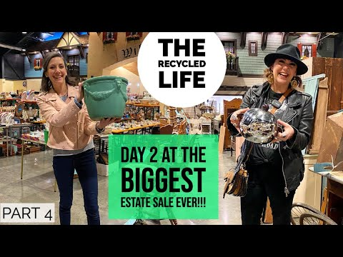 MASSIVE ESTATE SALE! Back again! Come pickin' with us at The