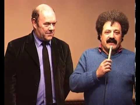 """Paul McGuinness  manager grupe """"U2"""" i Zelimir Altarac Cicak intervju - Sarajevo 28.marta 1997."""