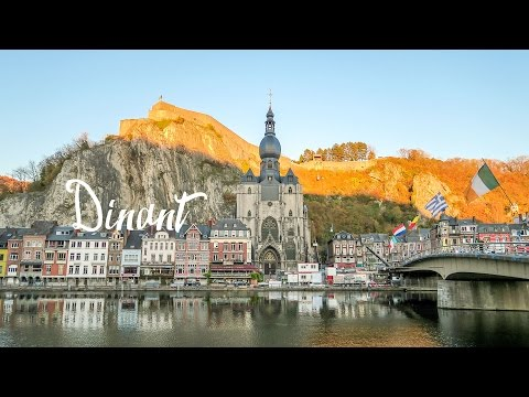 Exploring Dinant in Autumn (Caves, Hiking, and Food!)
