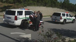 NOON Police chase ends in crash at North Augusta Aldi, one injured