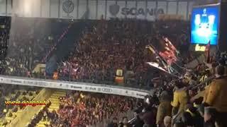 Fenerbahçe-Göztepe karşılıklı İzmir marşı