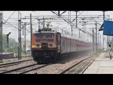 ECR Superfast at 125+ kmph | 12398 Mahabodhi SF Express !!