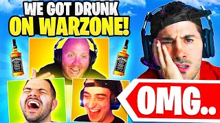 Playing Warzone While DRUNK.. *BAD IDEA*