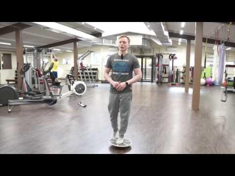 Плоскостопие: тренировка стопы на балансировочной платформе