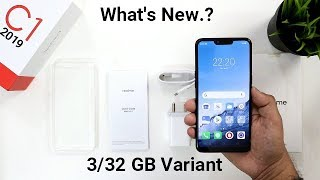 Realme C1 2019(3/32 GB) Unboxing Review I What's New.??