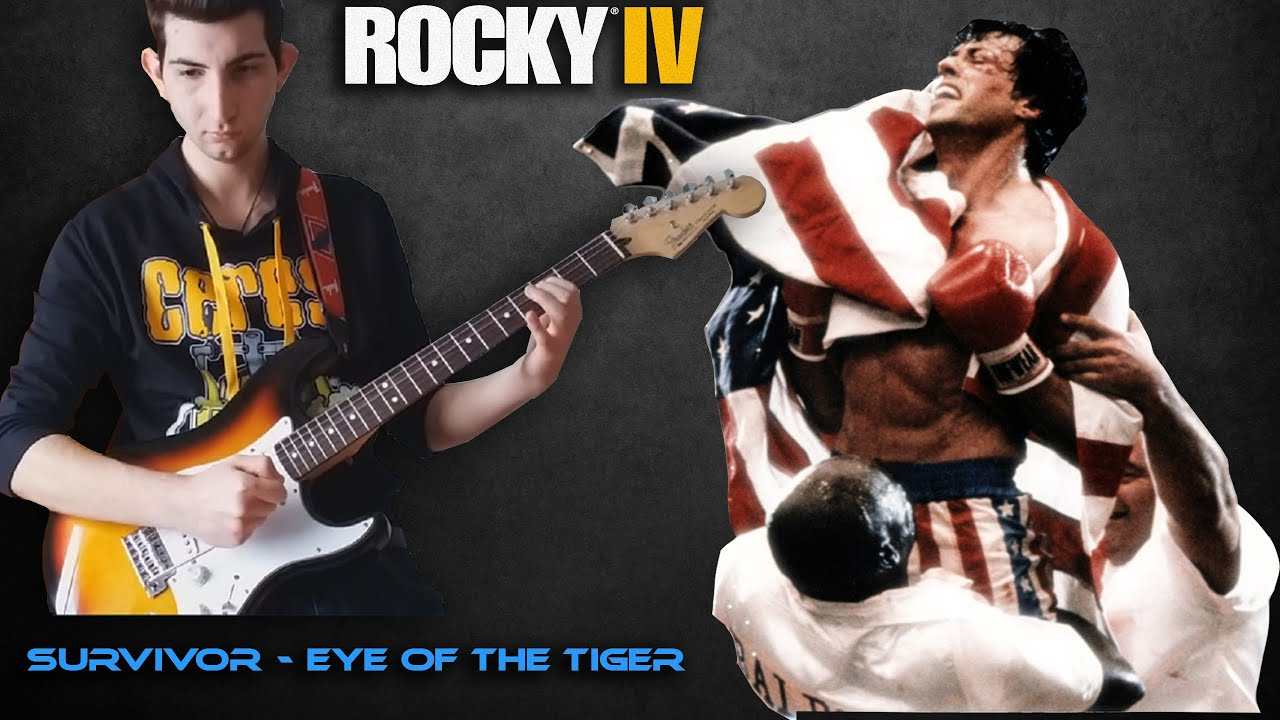 how to play the eye of the tiger on guitar