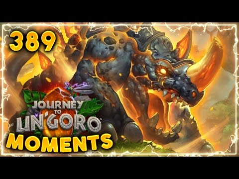 Crazy RNG Prediction..!! | Hearthstone Un'Goro Daily Moments Ep. 389 (Funny and Lucky Moments)
