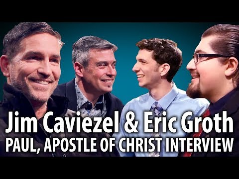 Jim Caviezel & Eric Groth Interview about Paul, Apostle of Christ (2018)