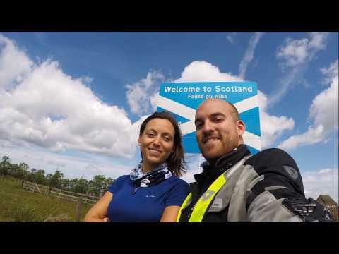 SCOTLAND MOTORAID 2017 - Italy-Scotland - BMW r1200 GS Rallye - gopro hero 5 black - full HD quality