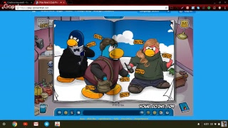 Club Penguin Waddle around fun time