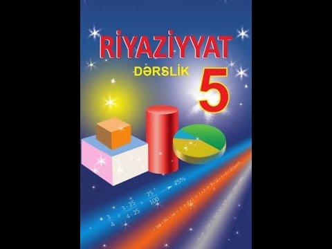 RİYAZİYYAT 5 / SƏH 160 / ÖZÜNÜQİYMƏTLƏNDİRMƏ
