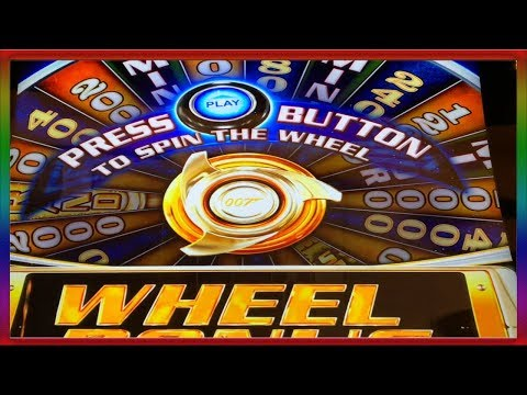 **WHAT DO YOU THINK ABOUT THE NEW JAMES BOND SLOT MACHINE ** SLOT LOVER **