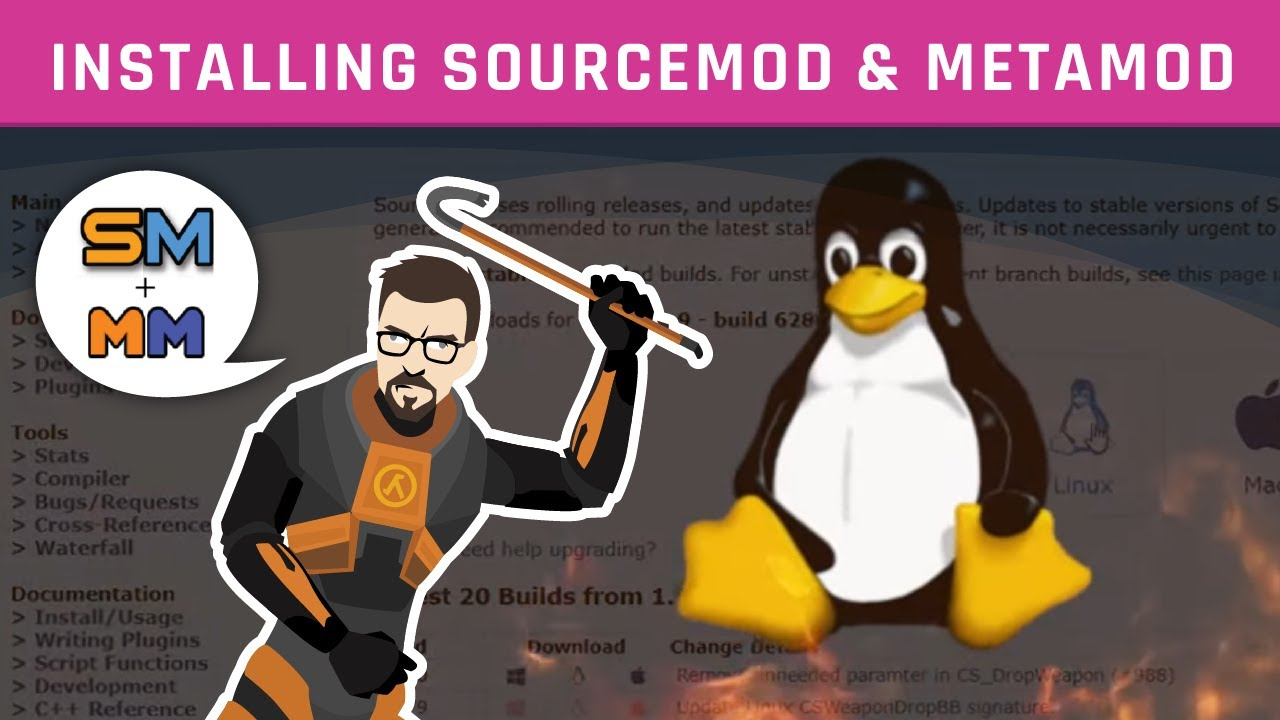 Installing Sourcemod / Metamod on your server | Counter Strike