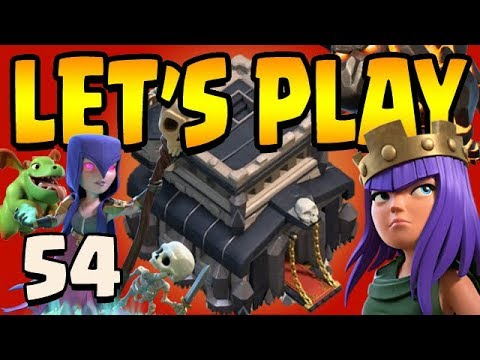 EPIC PLAYER?!  Th9 Let's Play ep54 | Clash of Clans