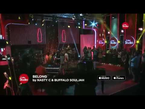 Nasty C ft Buffalo Soldier-Belong [Live on CokeStudio]
