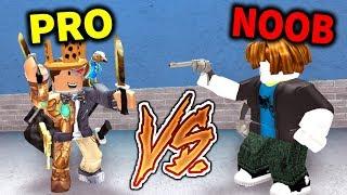 PRO vs NOOB: Murder Mystery 2 Edition!! (Roblox)