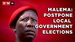 EFF leader Julius Malema has called for both national and local government elections should be held simultaneously in 2024. Malema was speaking on 30 March 2021 following the party's national plenum held over the weekend.