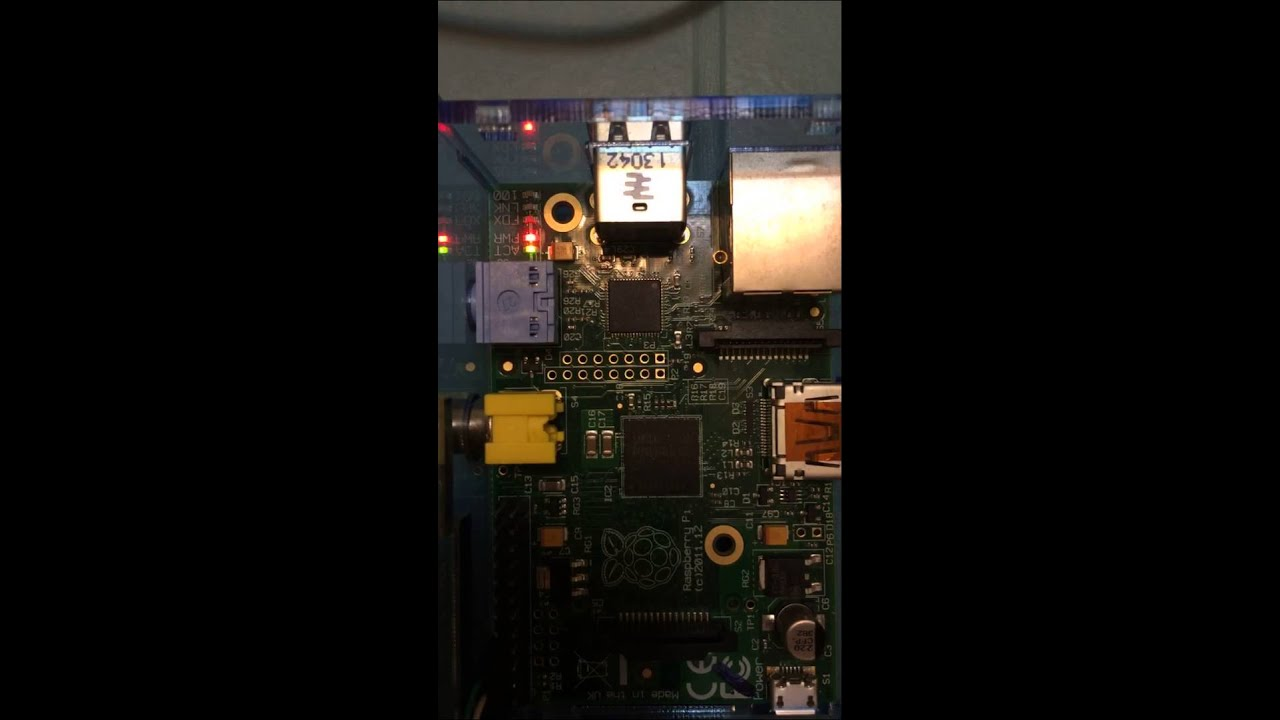Blinking LED using Elixir embedded image on Raspberry Pi