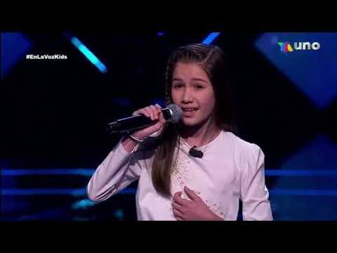 Alexandra Marie ¿Como Mirarte? Audiciones A Ciegas La Voz Kids 2021Completa - Mi Canal Viral
