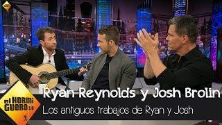 ¿Qué trabajos tenían Ryan Reynolds y Josh Brolin antes de ser actores? - El Hormiguero 3.0