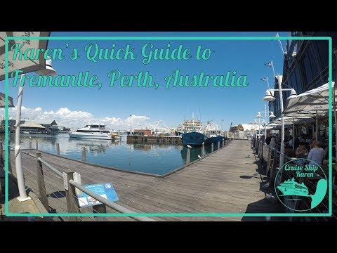 Karen's Quick Guide to Fremantle, Perth, Australia