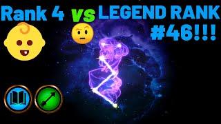 Rank 4 vs LEGEND RANK # 46! Market Assassin   TES Legends