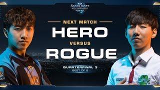 herO vs Rogue PvZ – Quarterfinal 3 – WCS Global Finals 2017 – StarCraft II